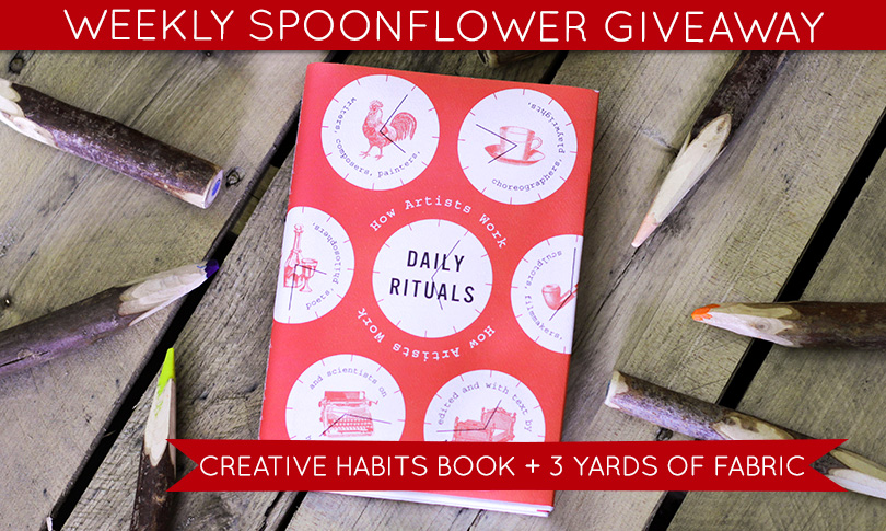 Win a Copy of Daily Rituals + 3 Yards of Fabric!