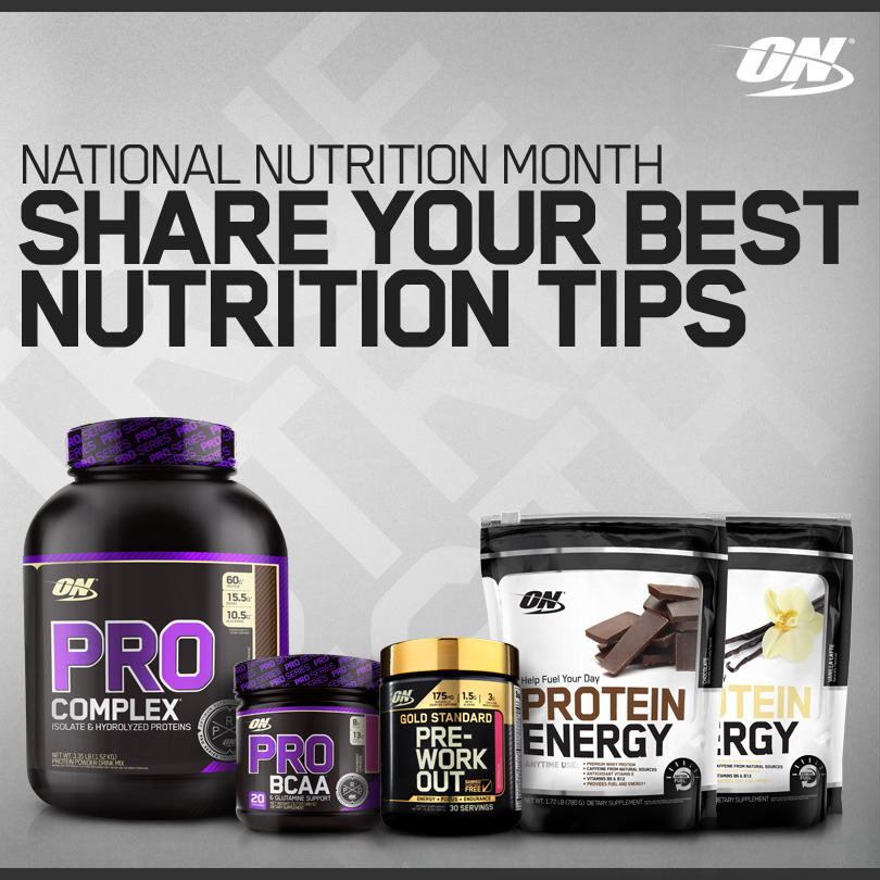 National Nutrition Month Share Your Best Nutrition Tips
