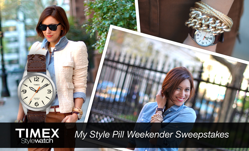 My Style Pill Weekender Sweepstakes